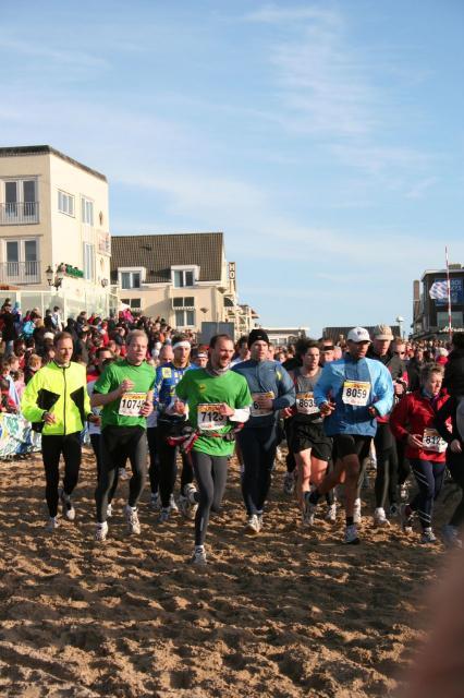 Half marathon in Egmond